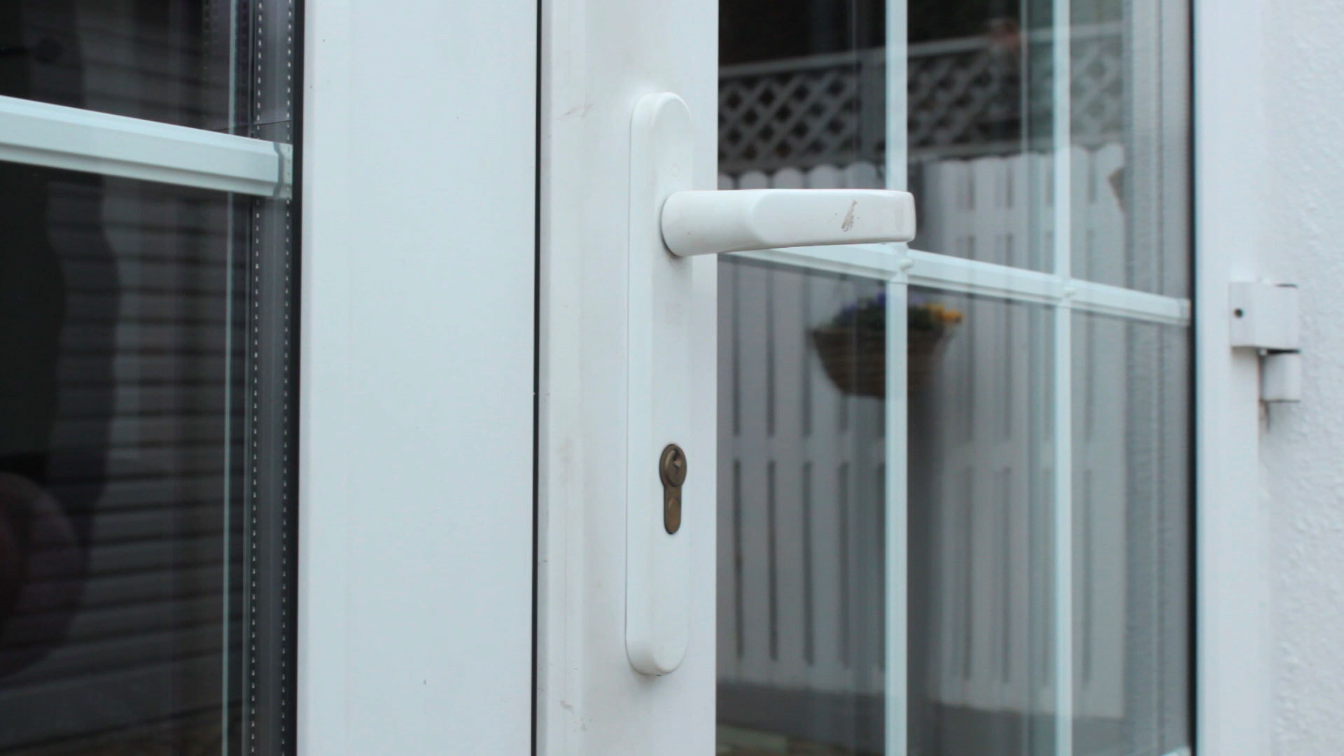 Securing french doors zentry forced entry solutions uk opening unlocked french doors rubansaba